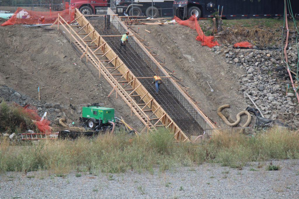 Kaiser pond fish screen shinn gravity rediversion no 2 for Koi pond builders east rand